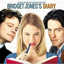 Bridget Jones's Diary movie poster (via Wikipedia)