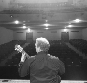 Classical guitarist Cain Budds