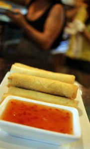 A photo of lumpia
