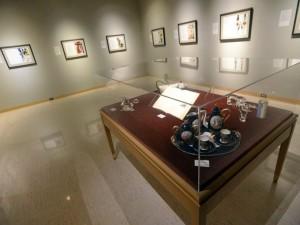 A photo of an exhibit