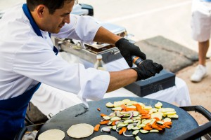 A photo of a chef