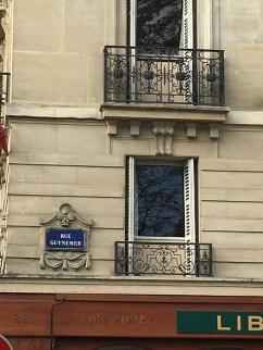 Rue Guynemer, en face du Jardin du Luxembourg