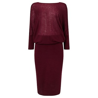 Jigsaw batwing dress £55 (was £139)
