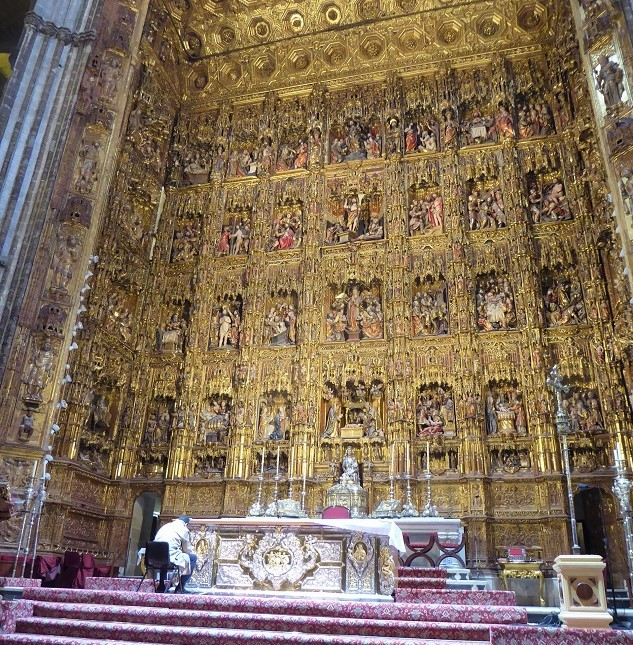 sevillecathedralaltar