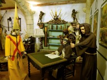 The Inquisition was evil, horrific, and wrong. This diorama, though... Photo by T.