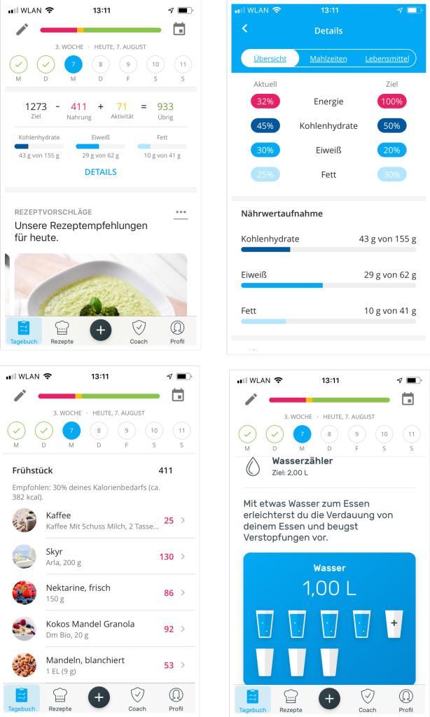 Yazio App Diät in den Wechseljahren