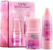 tarte positive energy deluxe energy lip and cheek set