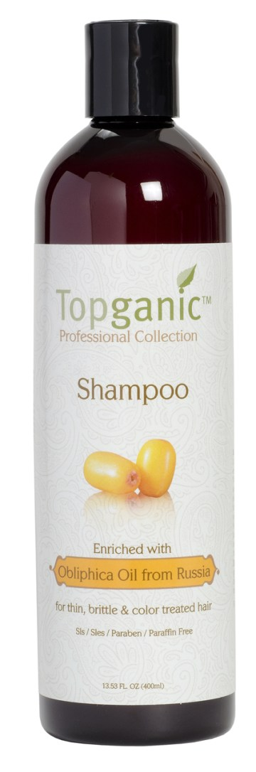 Topganic Shampoo with Obliphica Oil