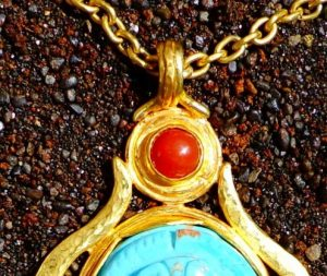 Fire Opal represent the sun