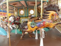 First Round Carousel Ride