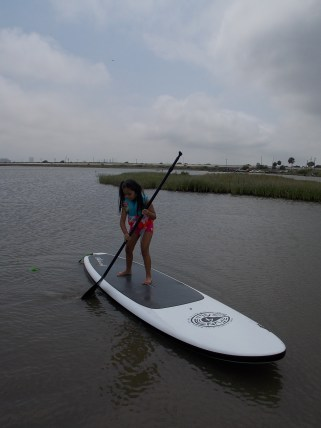 Paddle Boarding Kids