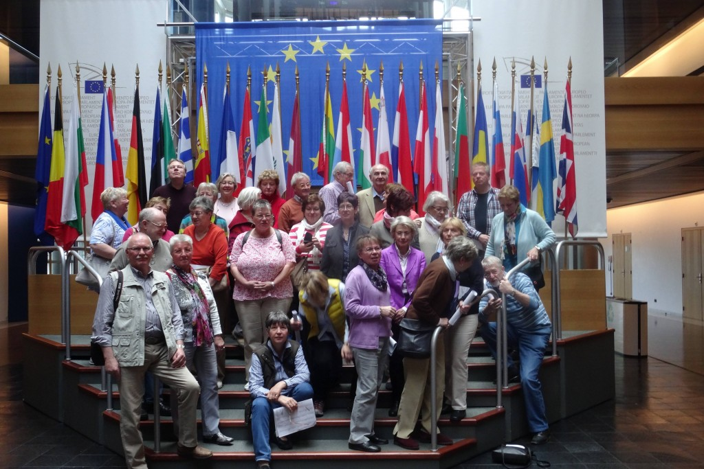 HWWItt - Im Europaparlament in Straßbourg