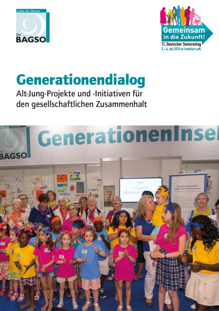 Screenshot BAGSO-Broschüre Generationendalog 2015