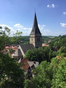 Foto 8 Barbara Eifert, Blick auf einen Kirchturm