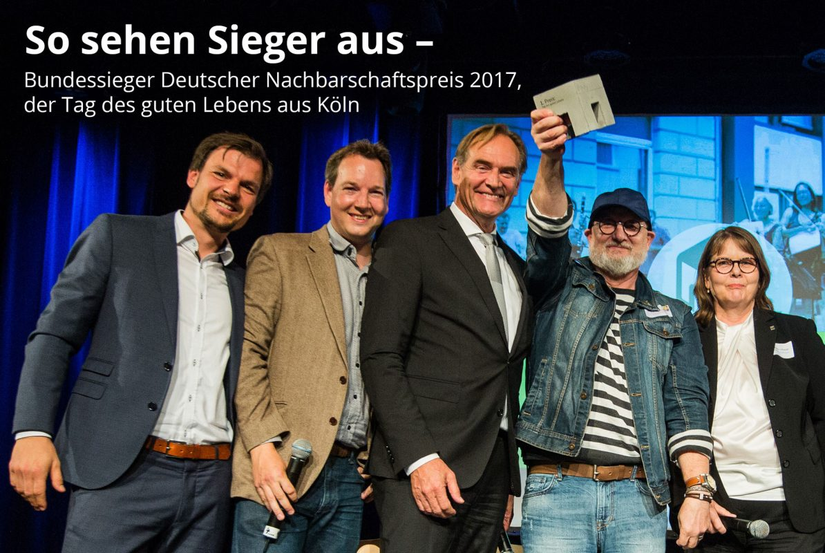 Siegerbild des Deutschen Nachbarschaftspreis 2017