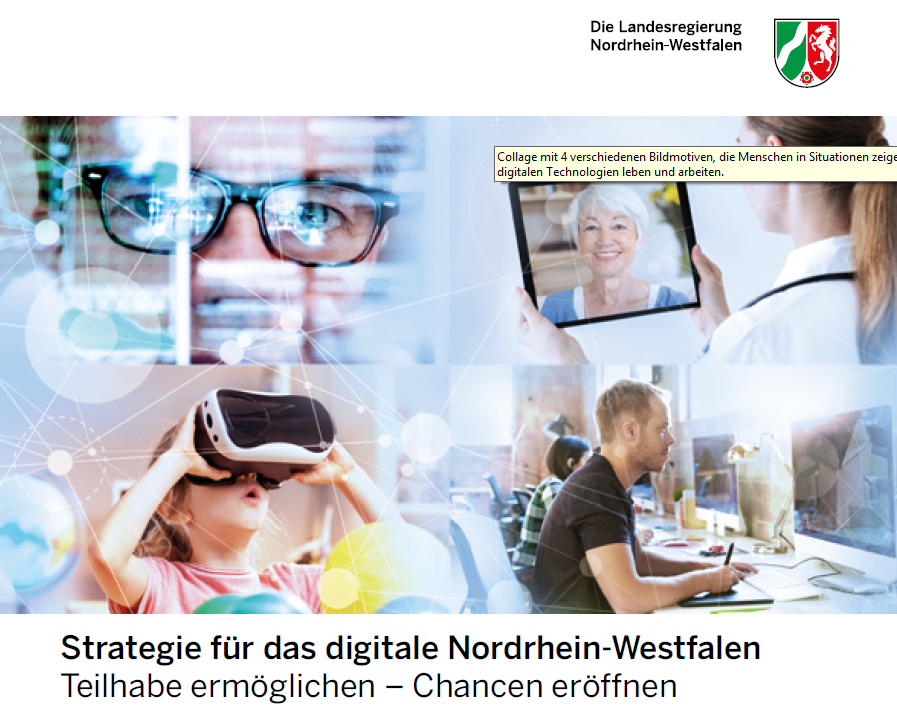 Cover Digitalstrategie NRW