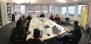 Sitzung der AG 3 - Sozialraum digital gestalten