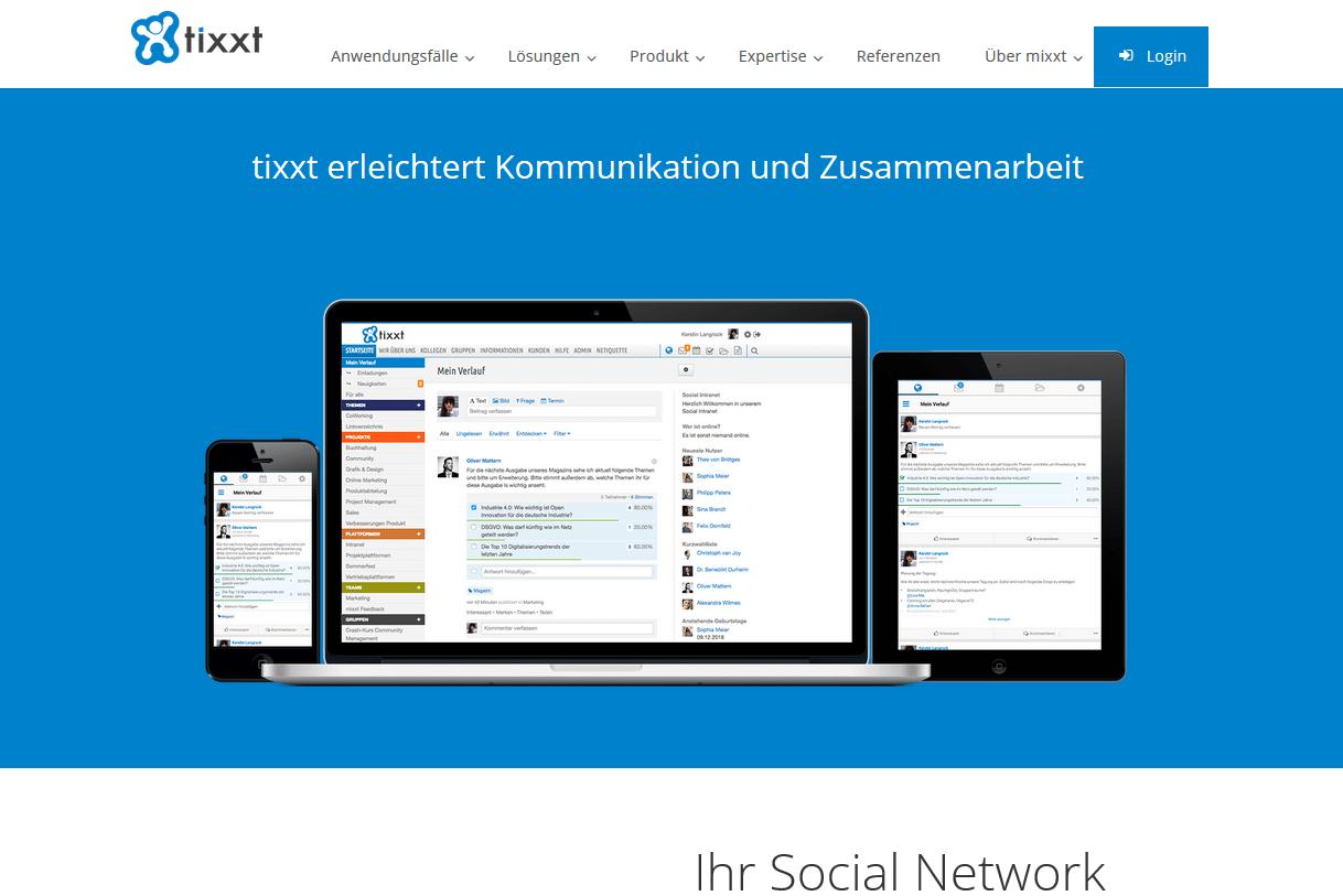 Screenshot tixxt