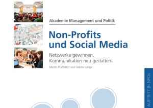 Screenshot Non-Profit und Social Media