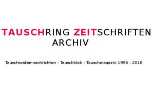 Tauschring Zeitschriften Archiv