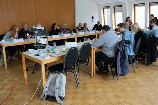 Die Teilnehmenden im Tagungshaus St. Georg