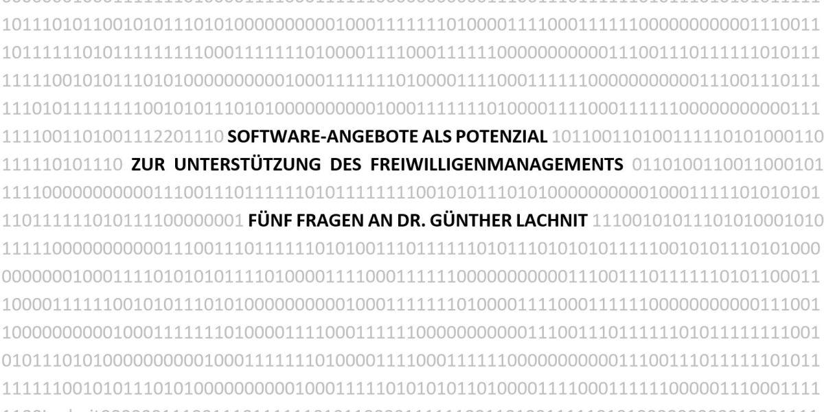 Titelbild Interview Dr. G. Lachnit