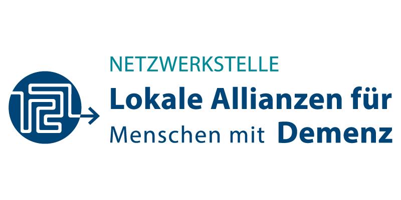 Logo Lokale Allianzen für Menschen mit Demenz