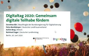 Studie Digitaltag 2020