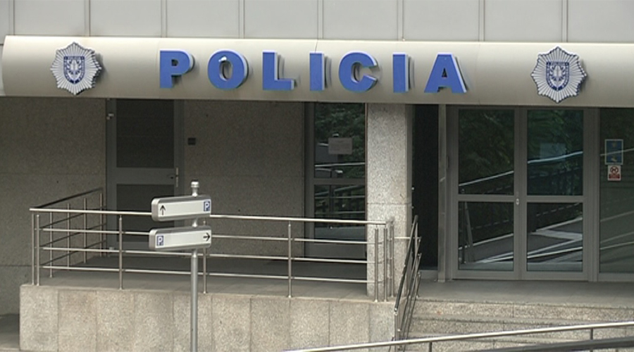 El despatx central de la Policia