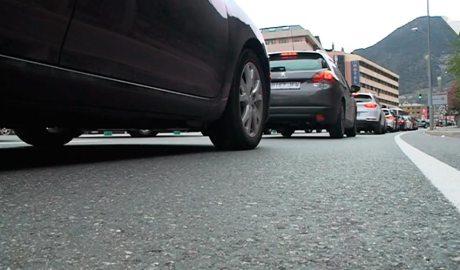 cua de cotxes