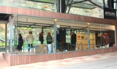 Un dels espais del centre Art al Roc