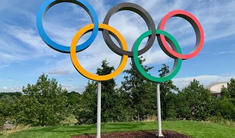 Les anelles emblema dels Jocs Olímpics