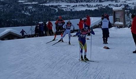 Una prova d'esquí de fons