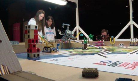 Una prova de la Micro First Lego League