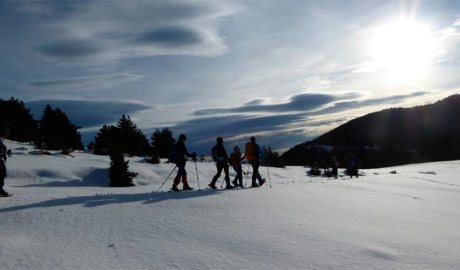 Cursa de raquetes de neu La Traça Muga