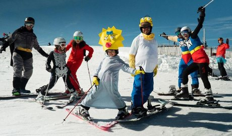 Esquiadors disfressats a Vallnord Pal Arinsal