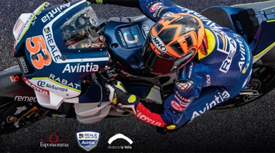 cartell presentació equip avintia de moto gp
