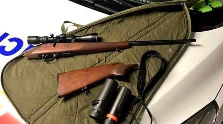 Material de caça confiscat