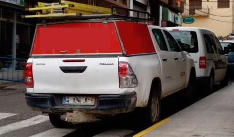 Foto del vehicle denunciat