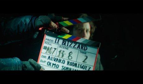 Un moment de la gravació de Le Blizzard