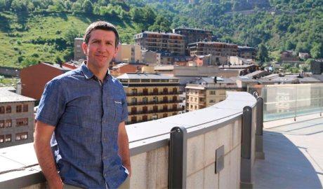Xabier Ajona, director de Naturlandia