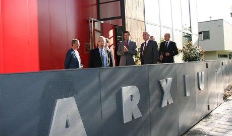 Inauguració de l'Arxiu Comarcal de l'Alt Urgell