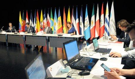 Reunió sobre la covid-19 en el marc de la cimera iberoamericana