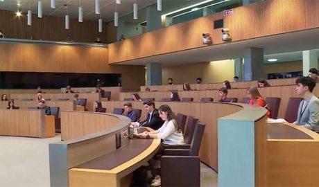 Sessió del Consell General dels Joves