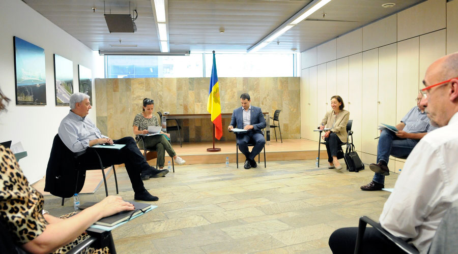 Reunió del Consell Econòmic i Social