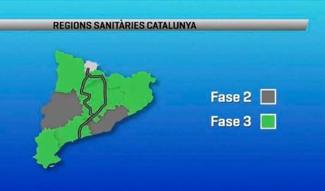 Via entre regions sanitàries a Catalunya