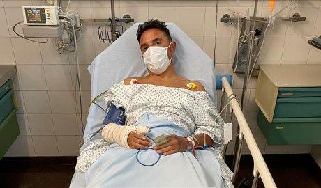Joaquim 'Purito' Rodríguez a l'hospital