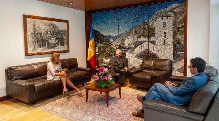 Vives s'ha reunit amb els cònsols d'Andorra la Vella