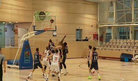 Partit de bàsquet entre el BC Andorra i el MAXI Manresa