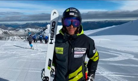 L'esquiador Joan Verdú